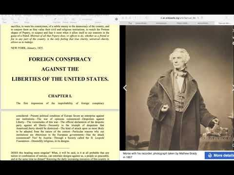 Foreign Conspiracy against the Liberties of the United States,Library of...