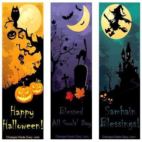 halloween bookmarkshalloween anything - Halloween Book Marks