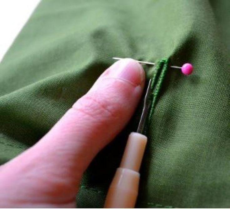 Des petites astuces de couture qui nous simplifient la vie