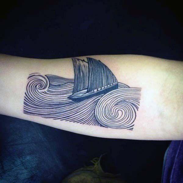 80 Woodcut Tattoo Designs For Men
