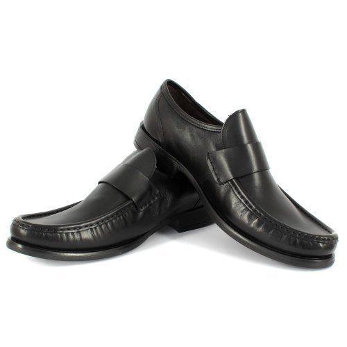 Base London Slacker 12 Slip On Mocassin Mens Shoe Black BNIB UK Size 7