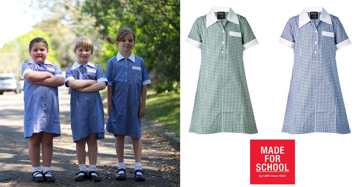 Classic summer school uniform style, that will keep your daughter cool, comfy and looking their best all day.