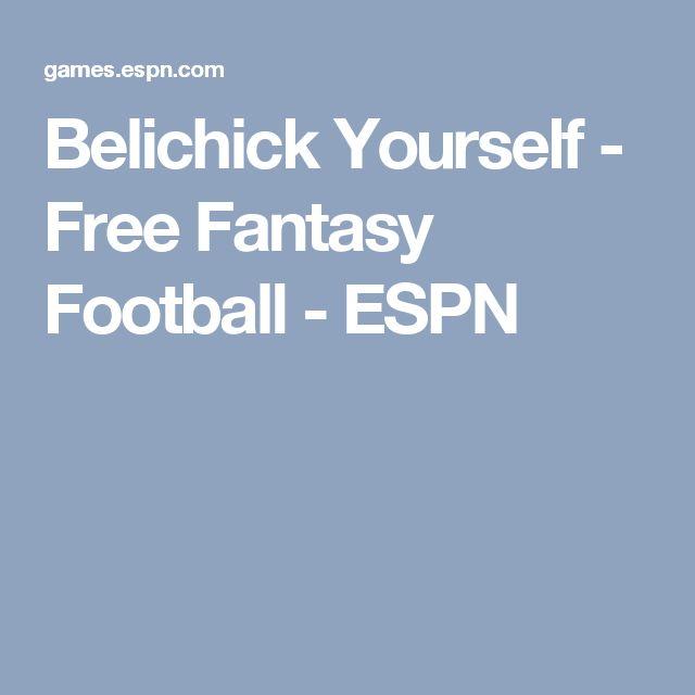 Belichick Yourself - Free Fantasy Football - ESPN