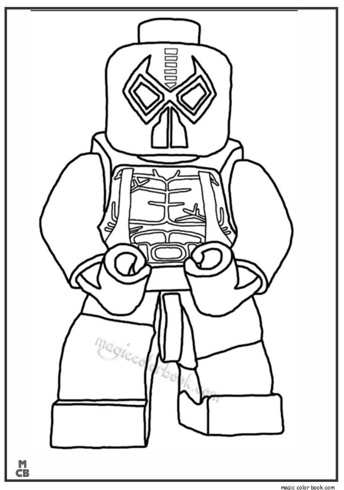 28 best Lego Coloring pages free images on Pinterest | Coloring ...