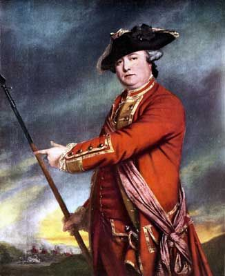 Colonel Smith British Commander at the Battle of Concord and Lexington 19th April 1775