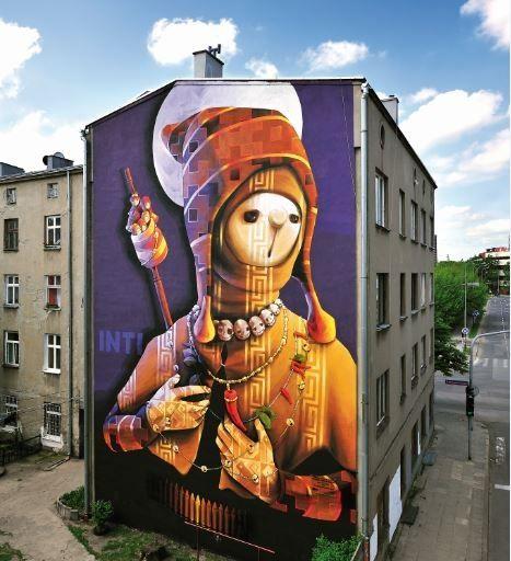Polska muralem stoi