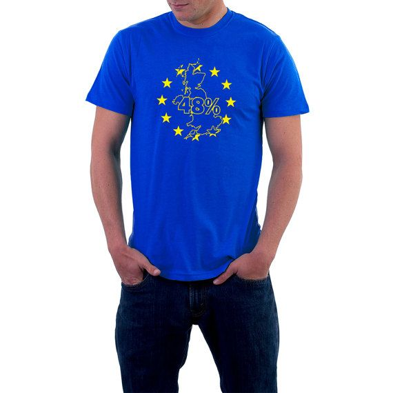 Were you one of the 48% who voted against leaving the #EU ?Tell the world /country/continent your preference and say it with pride. Long-lasting print on 185 gsm Gildan , Re... #election #vote #politics #voting #polling #eu #europe #referendum #uk #map #remain #brexit