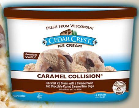 Cedar Crest ice cream!