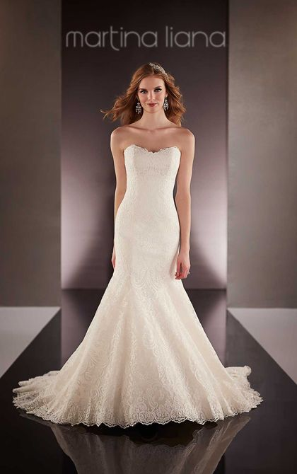 269 best I Like These Strapless Wedding Dresses images on Pinterest ...