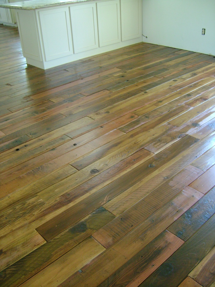 Beautiful reclaimed floor by Rewood.us