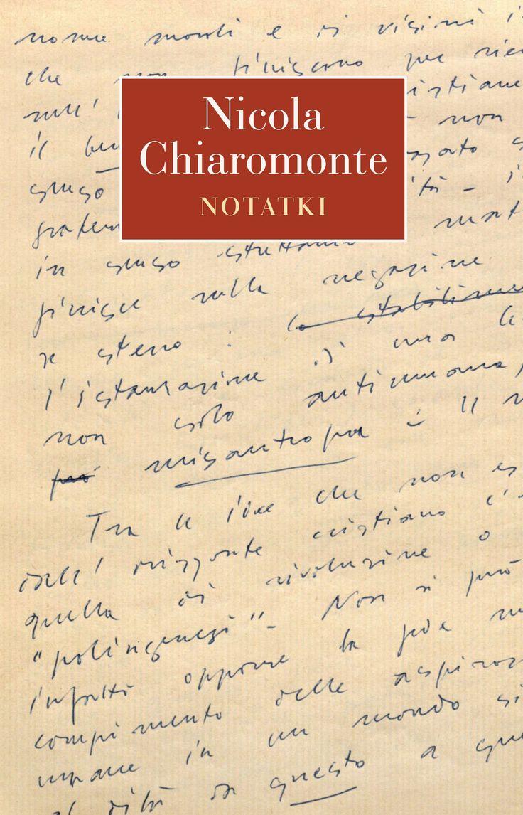 Nicola Chiaromonte, jeden z najbardziej oryginalnych eseistów i myślicieli włoskich, przez całe życie prowadził notatki, które dziś uważane są za jego najbardziej oryginalne intelektualnie i literacko dzieło, będące głębokim komentarzem do historii intelektualnej XX stulecia.