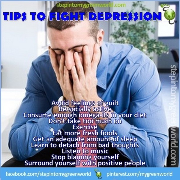 how to get rid of depression naturally