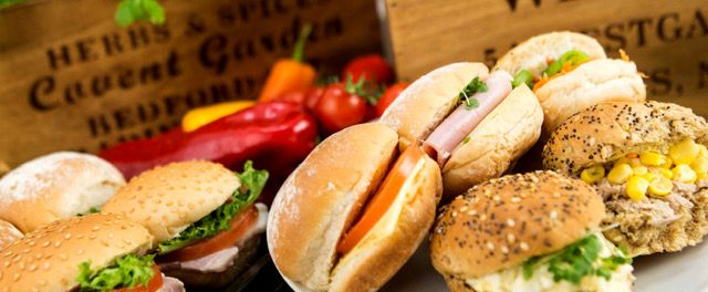 Our well loved Classic Buffet Catering, with different bread selections and more choice of finger foods than any other caterer.