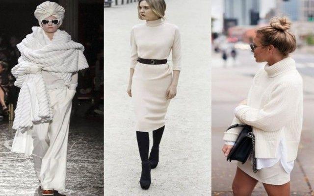 Vestito bianco inverno 2016 6a