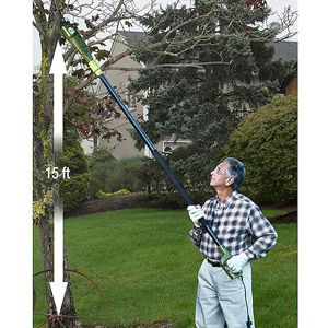 "Sun Joe Saw Joe 8"" 6.5-Amp Electric Pole Chain Saw"