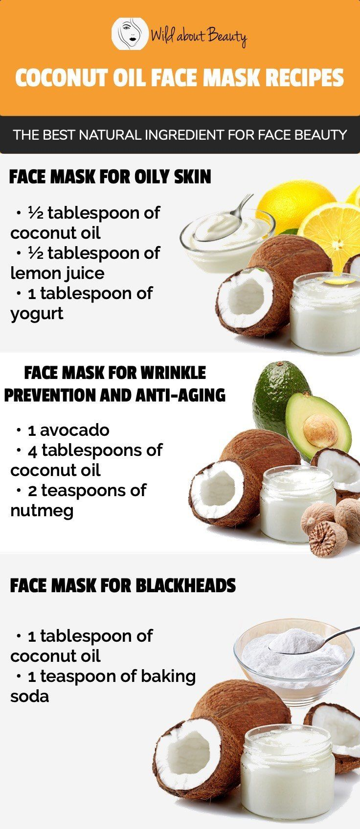 8 DIY Coconut Oil Face Masks – The Best Ingredient for Perfect Skin
