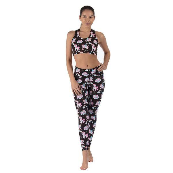 Tikiboo Space Unicorns Leggings £35.99 #Activewear #Gymwear #FitnessLeggings #Leggings #Tikiboo #Running #Yoga