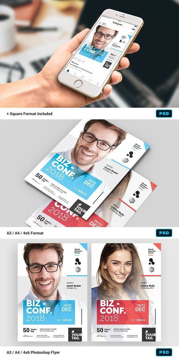 seminar flyer template modern flyer pinterest flyer template