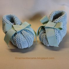 carmenbecares.blogspot.com: EMOCIONANTE! ( dos agujas). KNITTED TUTORIAL  Aprende más de los bebés en somosmamas.com.ar.