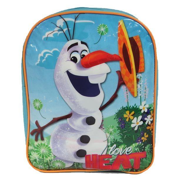 Afmeting: 30 x 24 x 9 cm - Disney Frozen Olaf Rugzak