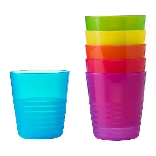 Gelas Ikea Kalas Isi : 6 pcs gelas warna warni http://baby.letimahouse.com