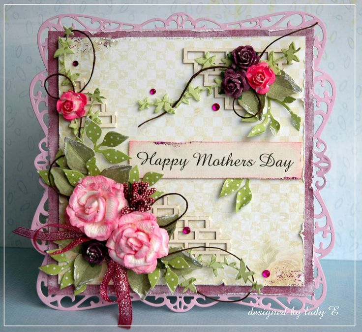 Scrap Art by Lady E: Mothers Day / Dzień Matki