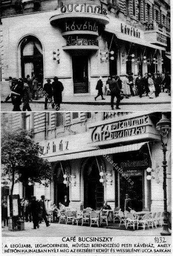 Irodalmi kávéházak 9. – Bucsinszky - Szerelmem, Budapest