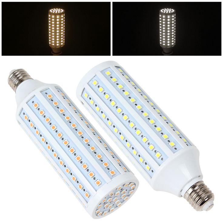 Дешевое 26 Вт E27 132 x 5050 СМД из светодиодов свет высокая яркость теплый белый / белый кукуруза лампа, Купить Качество Светодиодные лампы и трубки непосредственно из китайских фирмах-поставщиках:        26 Вт E27 132x5050                 Свет высокого яркий теплый белый/белый лампа           Лампы использует 132 шт