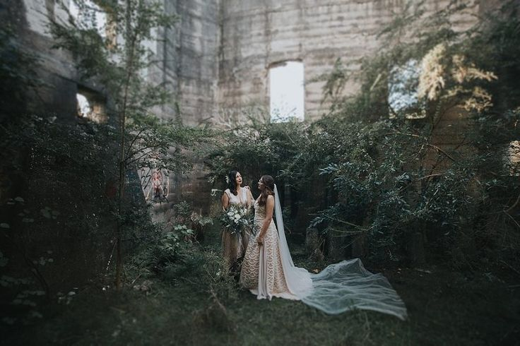 Love Her, But Leave Her Wild ➳ Otherworldly Wedding Inspiration For Real World Brides