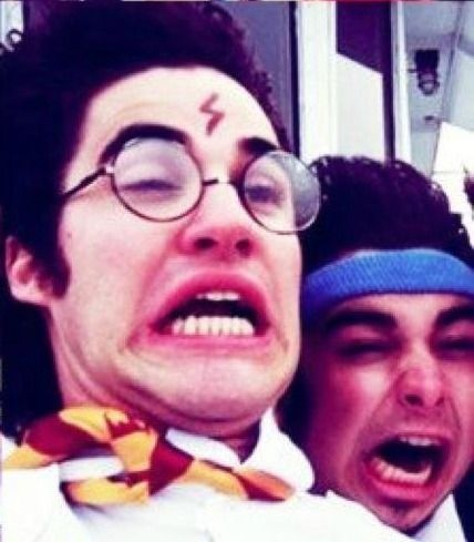 Darren Criss and Joey Richter my two favorite people ever