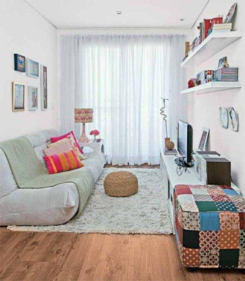 diseño sala muy pequeña