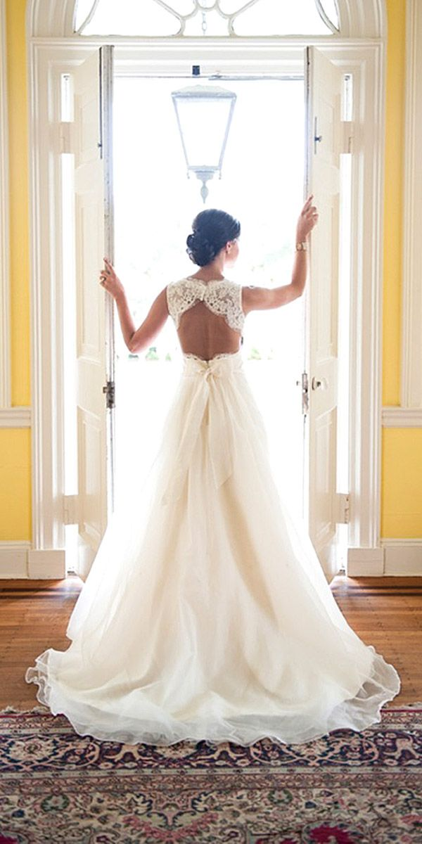 Bridal Inspiration: Rustic Wedding Dresses ❤ See more: http://www.weddingforward.stfi.re/rustic-wedding-dresses/ #weddings