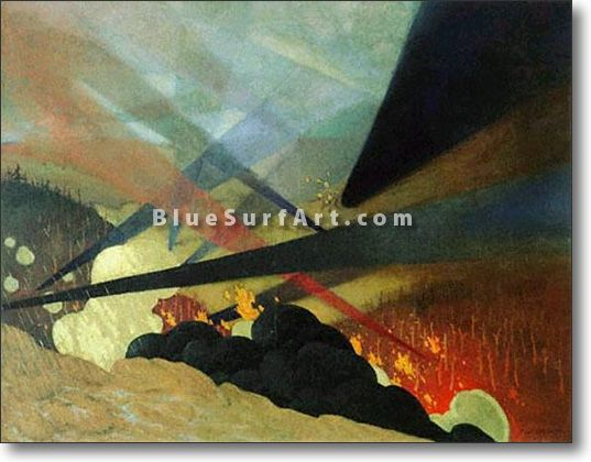 Verdun - £124.99 : Canvas Art, Oil Painting Reproduction, Art Commission, Pop Art, Canvas Painting