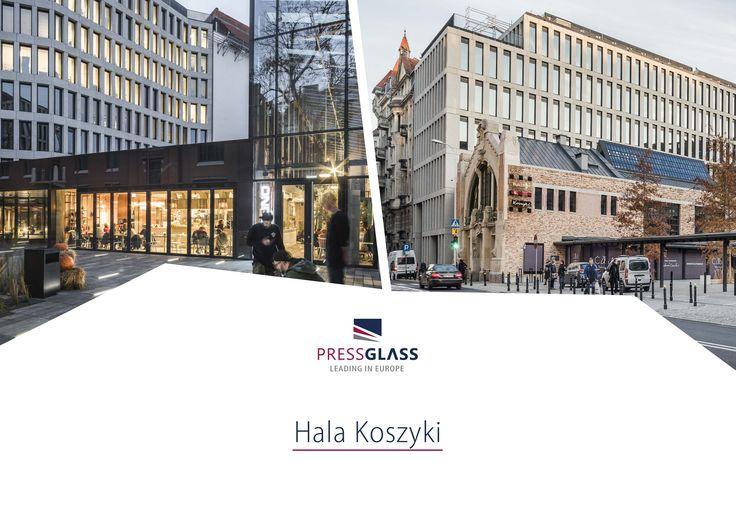 Hala Koszyki in Warsaw (Poland) / Hala Koszyki w Warszawie.