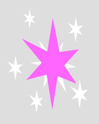 twilight sparkle cutie mark decal its so pretty