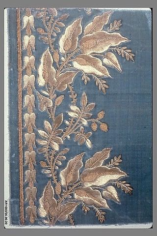 Embroidery Sample (France), 1785-1810