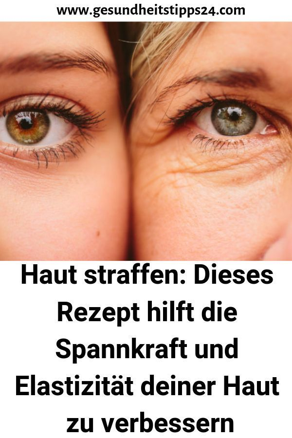 Tighten the skin: This recipe is a tree ...  -  Hautpflege-Rezepte