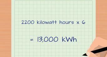 calcular los kilovatios por hora