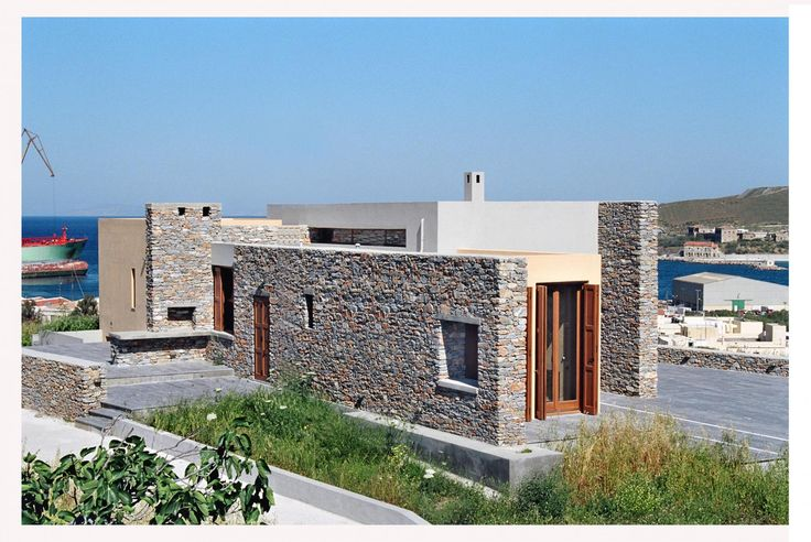 Vacation house on Syros Island, Greece, Katerina Valsamaki | Archello, http://katerinavalsamaki.gr/