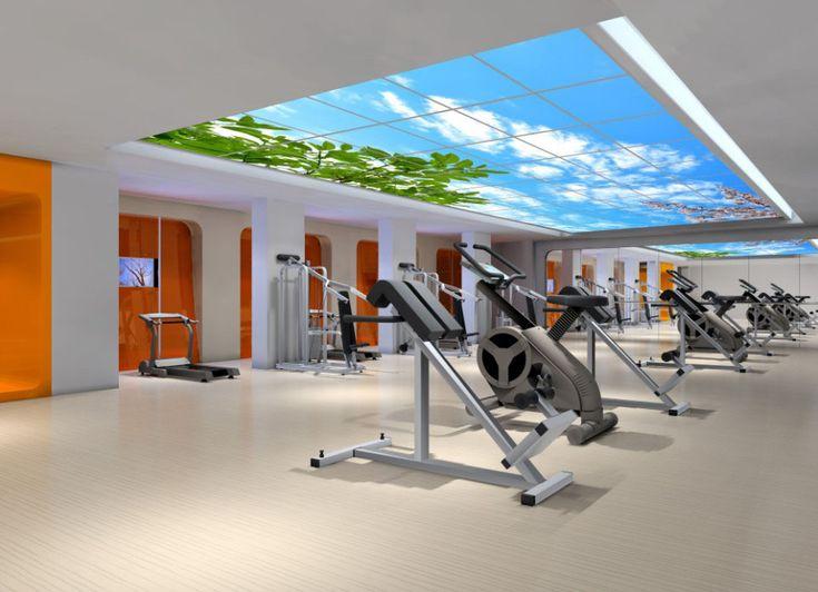 New Gym Led Lighting