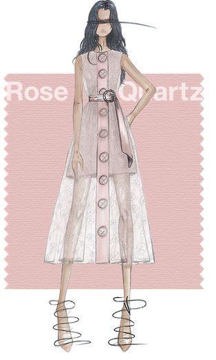 Pantone Rose Quartz - Spring 2016