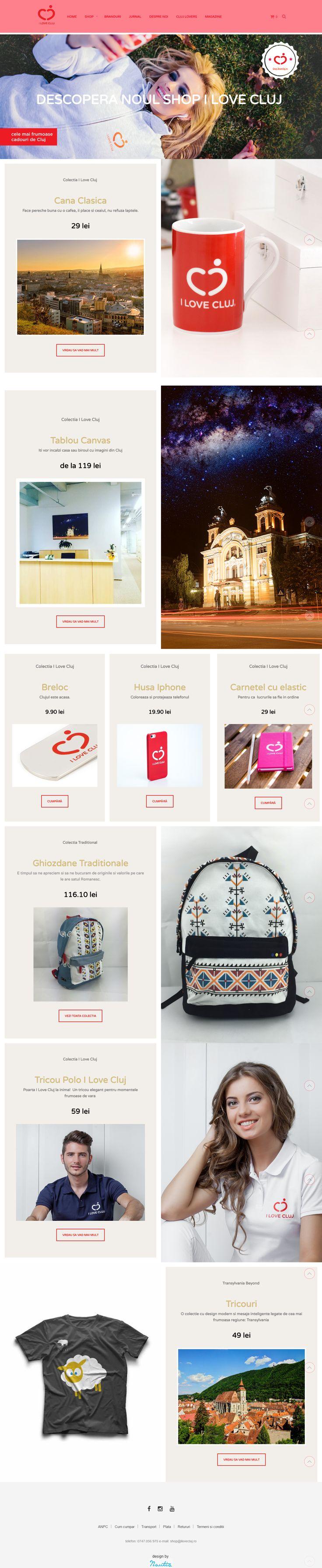 Cool site built with the Shopkeeper #wordpresstheme: shop.ilovecluj.ro #showcase #woocommerce #ecommerce #design #web http://themeforest.net/item/shopkeeper-responsive-wordpress-theme/9553045?&utm_source=pinterest.com&utm_medium=social&utm_content=ilovecluj&utm_campaign=showcase