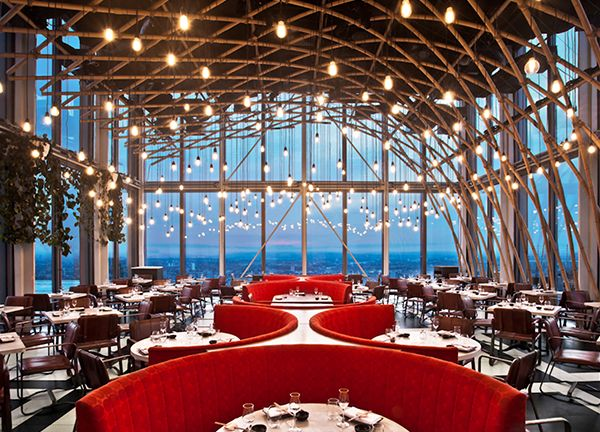 Sushi Samba - high-end japanese & sushi restaurant -  Heron Tower, 110 Bishopsgate, London EC2N 4AY
