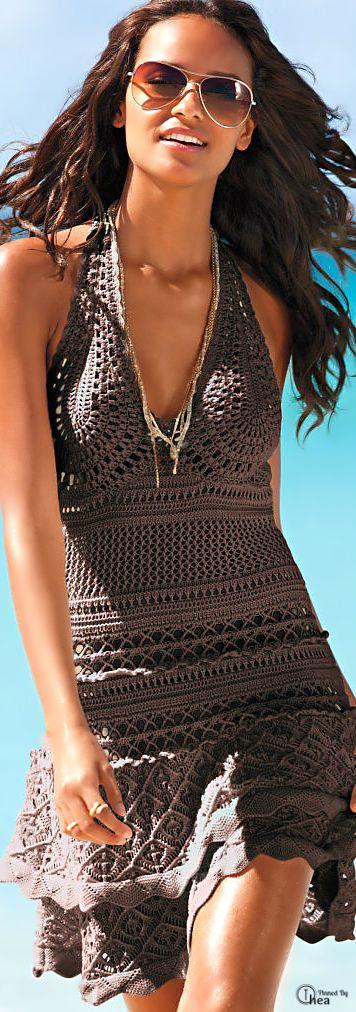 Victoria's Secret Crochet Sundress