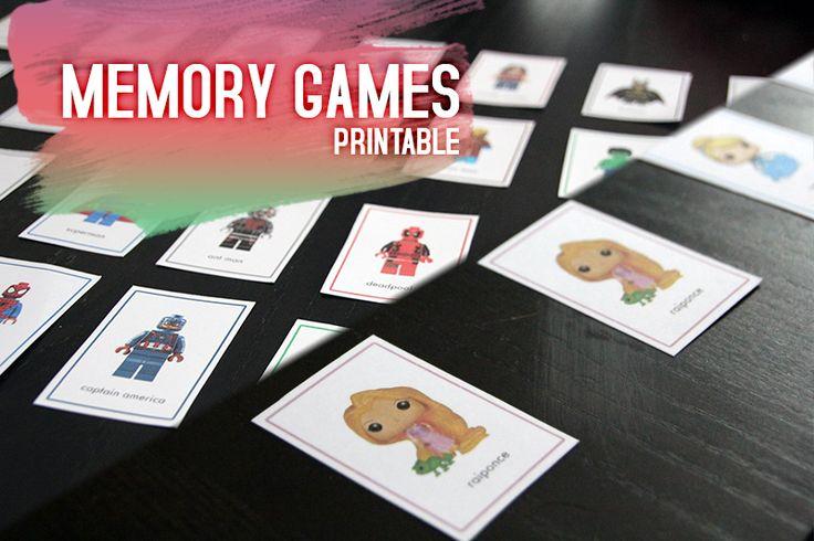 Memory Game Printable