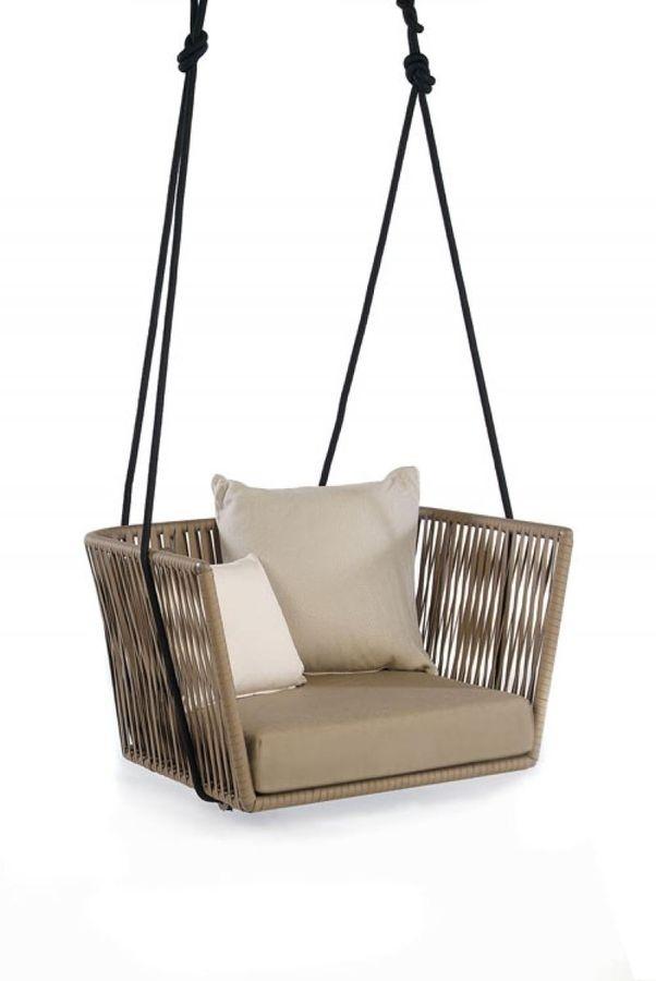 contemporary suspended garden chair BITTA by Rodolfo Dordoni KETTAL