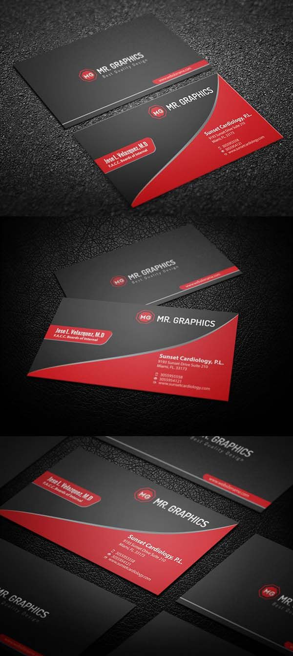 Examples business cards - 36 Modern Business Cards Examples For Inspiration 23 Businesscards Visitingcards Corporateidentity