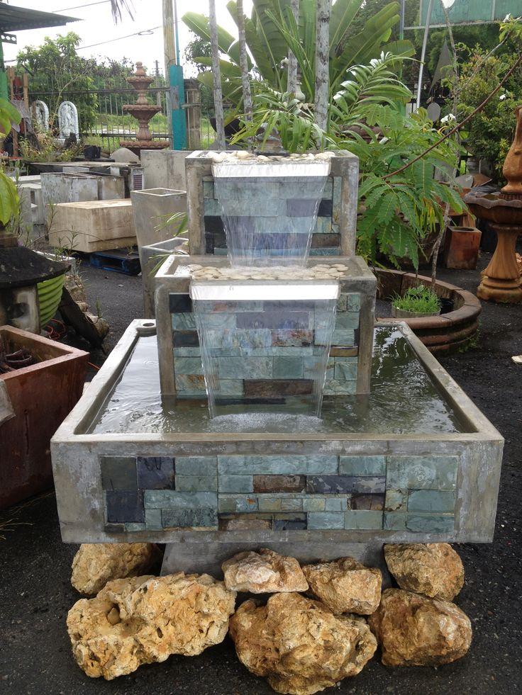 fuentes para jardines