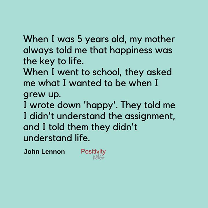 John Lennon Quotes About Life And Happiness: A Thought On Life And Happiness From John Lennon. So Wise