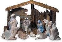 Lladro . . . 2,845 dollars for the set . . . but isn't it pretty?